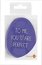 Voňavky, Parfémy, kozmetika Kefa na vlasy, fialová - Beauty Look Tangle Definer Petite Violet