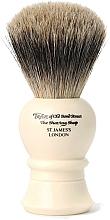 Voňavky, Parfémy, kozmetika Štetka na holenie, 9,5 cm, P1020 - Taylor of Old Bond Street Shaving Brush Pure Badger Size S