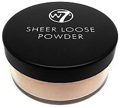 Voňavky, Parfémy, kozmetika Sypký púder na tvár - W7 Sheer Loose Powder
