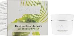 Voňavky, Parfémy, kozmetika Výživný krém pre suchú a citlivú pokožku - Ryor Nourishing Cream Exclusive