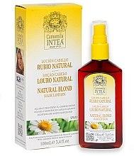 Voňavky, Parfémy, kozmetika Lotion na zosvetlenie vlasov s harmančekovým extraktom pre dospievajúcich - Intea Premium Natural Blonde Hair Lightening Lotion Wth Natural Camomile Extract