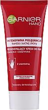 Voňavky, Parfémy, kozmetika Regeneračný krém na ruky pre veľmi suchú pokožku - Garnier Skinat Body Intenzívna starostlivosť