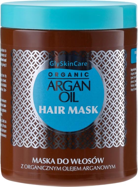 Vlasová maska s arganovým olejom - GlySkinCare Argan Oil Hair Mask