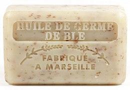 Voňavky, Parfémy, kozmetika Marseillské mydlo s olejom z pšeničných klíčkov - Foufour Savonnette Marseillaise Huile de Germe de Ble