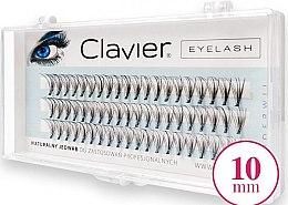 Voňavky, Parfémy, kozmetika Falošné mihalnice, 10 mm - Clavier Eyelash