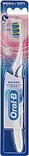 Voňavky, Parfémy, kozmetika Akumulátorová zubná kefka, mäkká, bielo-fialová - Oral-B Pulsar Sensitive&Gum Care