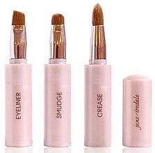 Voňavky, Parfémy, kozmetika Štetec na make-up 3 v 1 - Jane Iredale Brush Snappy Wand 3 in 1 Limited Edition