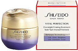 Voňavky, Parfémy, kozmetika Nočný krém na tvár - Shiseido Vital Perfection Overnight Firming Treatment