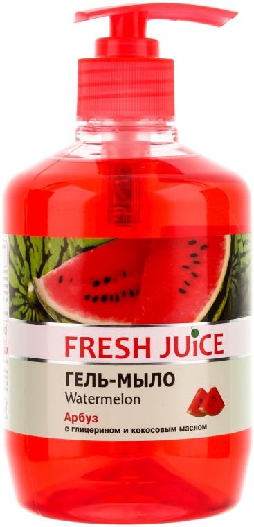 "Gél mydlo s glycerínom ""Vodný melón"" - Fresh Juice Watermelon"