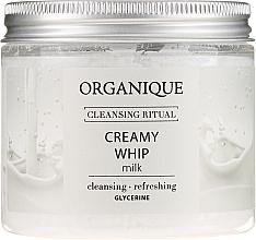 """Voňavky, Parfémy, kozmetika Pena na telo """"Milk"""" - Organique Cleansing Ritual Creamy Whip Milk"""