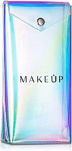 Voňavky, Parfémy, kozmetika Púzdro na štetce transparentné «Holographic», 20x10x4cm - MakeUp