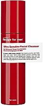 Voňavky, Parfémy, kozmetika Extra citlivý čistiaci prípravok na tvár - Recipe For Men Ultra Sensitive Facial Cleanser