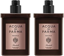 Voňavky, Parfémy, kozmetika Acqua Di Parma Colonia Sandalo Concentree - Sada (edc/refill/2x30ml)