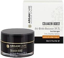 Voňavky, Parfémy, kozmetika Hydratačný krém proti vráskam SPF25 - Arganicare Collagen Boost Anti Wrinkle Moisturizer SPF25