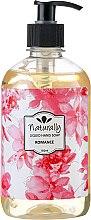 Voňavky, Parfémy, kozmetika Prírodné tekuté mydlo - Naturally Hand Soap Romance