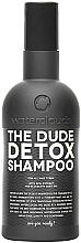 """Voňavky, Parfémy, kozmetika Šampón """"Detox"""" - Waterclouds The Dude Detox Shampoo"""