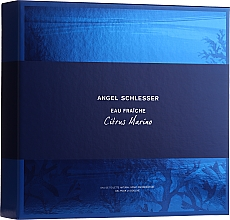 Voňavky, Parfémy, kozmetika Angel Schlesser Eau Fraiche Citrus Marino - Sada (edt/100ml+sh/gel/150ml)