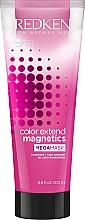 Voňavky, Parfémy, kozmetika Maska s dvojitým vzorom na ochranu barvy farebných vlasov - Redken Color Extend Magnetic Megamask