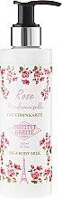 Voňavky, Parfémy, kozmetika Telové mlieko - Institut Karite Rose Mademoiselle Shea Body Milk