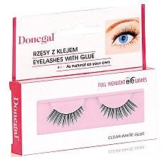 Voňavky, Parfémy, kozmetika Falošné riasy, 4450 - Donegal Full Highlight Eye Lashes