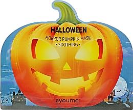 Voňavky, Parfémy, kozmetika Upokojujúca maska s tekvicovým extraktom - Ayoume Halloween Horror Pumpkin Mask Soothing