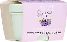 Voňavky, Parfémy, kozmetika Čistiaca pena na tvár - Fluff Facial Cleansing Mousse Wild Blueberry