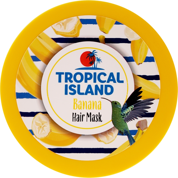 """Maska na vlasy """"Banán"""" - Marion Tropical Island Banana Hair Mask"""