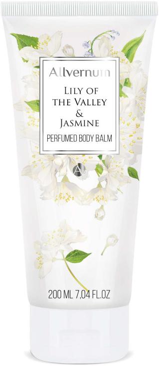 Parfumovaný balzam na telo - Allverne Lily of the Valley & Jasmine