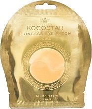 """Voňavky, Parfémy, kozmetika Hydrogélové náplasti pod oči, zlaté"""" - Kocostar Princess Eye Patch Gold"""