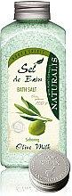 Voňavky, Parfémy, kozmetika Soľ do kúpeľa - Naturalis Sel de Bain Olive Milk Bath Salt