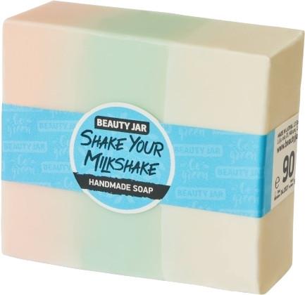 Glycerínové mydlo s vôňou jahôd a smotany - Beauty Jar Shake Your Milkshake Handmade Soap