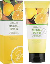 Voňavky, Parfémy, kozmetika Citrónová detoxikačná pena - Lebelage Lemon Detox Cleansing Foam