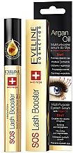 Voňavky, Parfémy, kozmetika Komplexné sérum na riasy s arganovým olejom 5 v 1 - Eveline Cosmetics Sos Lash Booster