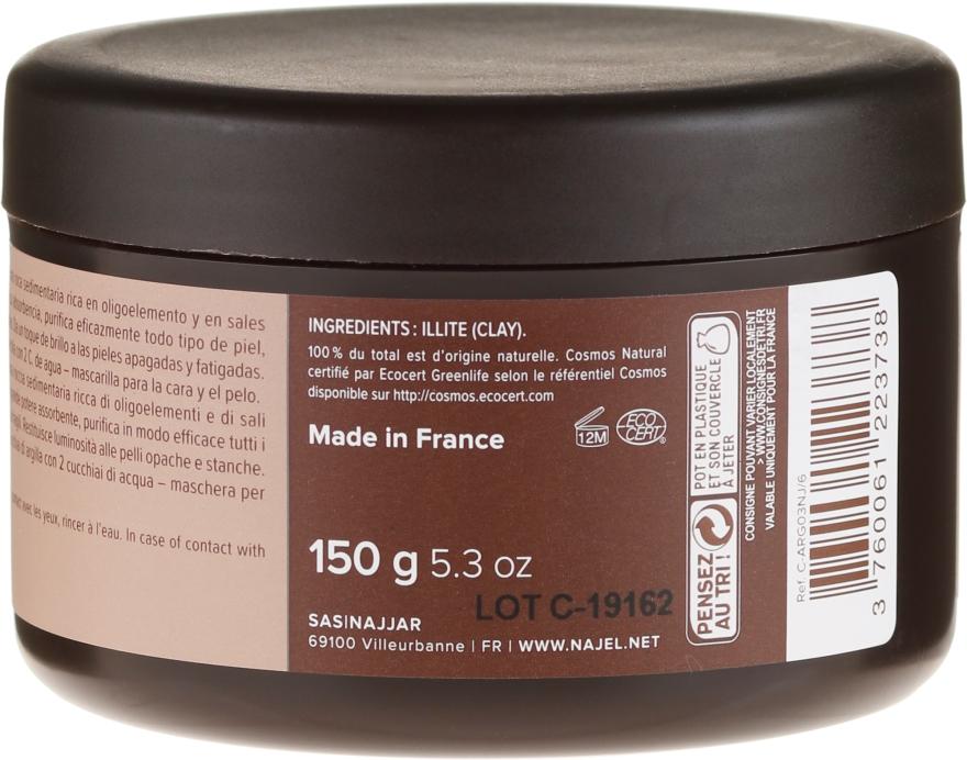 Kozmetický íl Červený - Najel Red Clay For Healthy Glow — Obrázky N2