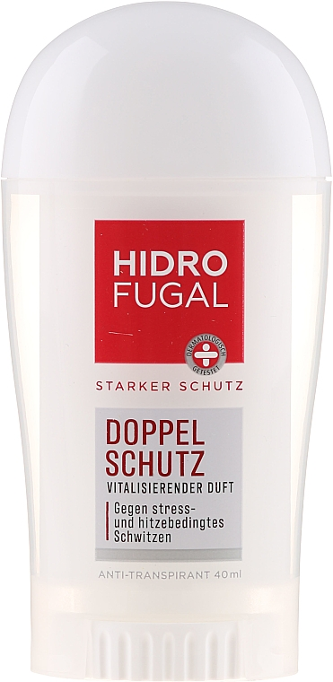"Antiperspirant v tyčinke ""Dvojitá ochrana"" - Hidrofugal Double Protection Stick"