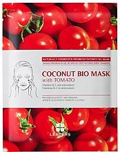 Voňavky, Parfémy, kozmetika Biocelulózová tvárová maska - Leaders Coconut Bio Tomato Mask