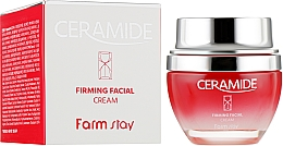 Voňavky, Parfémy, kozmetika Spevňujúci krém na tvár s ceramidmi - FarmStay Ceramide Firming Facial Cream