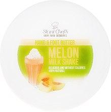 Voňavky, Parfémy, kozmetika Olej na ruky a nohy - Hristina Stani Chef's Hand And Foot Butter Melon Milk Shake
