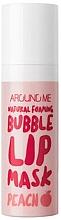 Voňavky, Parfémy, kozmetika Bublinová maska na pery - Welcos Natural Foaming Bubble Lip Mask Peach