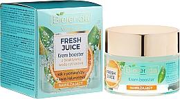Voňavky, Parfémy, kozmetika Hydratačný posilňujúci krém s bioaktívnou citrusovou vodou - Bielenda Fresh Juice Booster