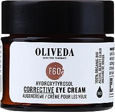 Voňavky, Parfémy, kozmetika Krém na viečka - Oliveda F60 Augencreme Hydroxytyrosol Corrective Eye Cream