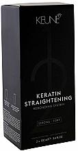 Voňavky, Parfémy, kozmetika Liečivý systém na keratínové narovnanie vlasov - Keune Keratin Straightening Rebonding System Strong