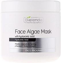 Voňavky, Parfémy, kozmetika Alginátová tvárová maska s kyselinou hyalurónovou - Bielenda Professional Face Algae Mask with Hyaluronic Acid
