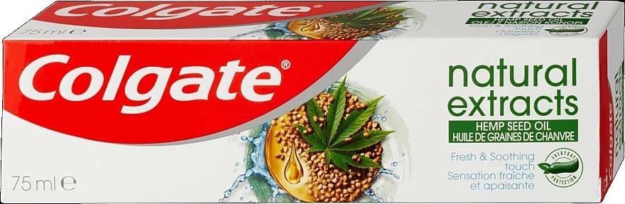 """Zubná pasta """"Konopné semená"""" - Colgate Natural Extracts Hemp Seed Oil — Obrázky N1"""