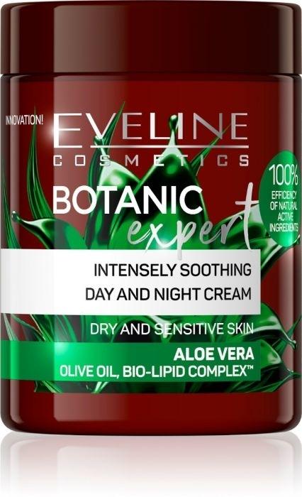Krém na tvár - Eveline Cosmetics Botanic Expert Aloe Vera Day & Night Cream