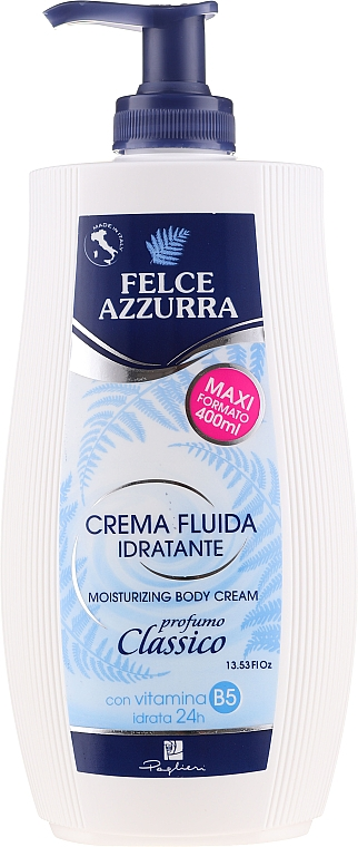 "Hydratačný telový krém ""Klasický"" - Felce Azzurra Classic Moisturizing Cream"