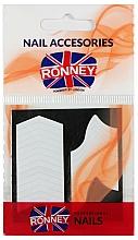 Voňavky, Parfémy, kozmetika Šablóny francúzskej manikúry - Ronney Professional