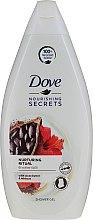 Voňavky, Parfémy, kozmetika Sprchový gél s kakao maslom a ibištekom - Dove Nourishing Secrets Shower Gel