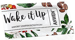 Voňavky, Parfémy, kozmetika Enzýmový šampón na vlasy s kávovou arómou - Anwen Wake It Up Shampoo (vzorka)