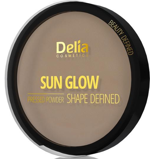 Kompaktný púder - Delia Shape Defined Sun Glow — Obrázky N1